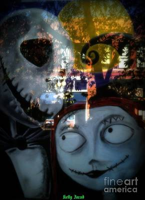 Photograph - Nightmare Before Christmas 2 by Kelly Awad