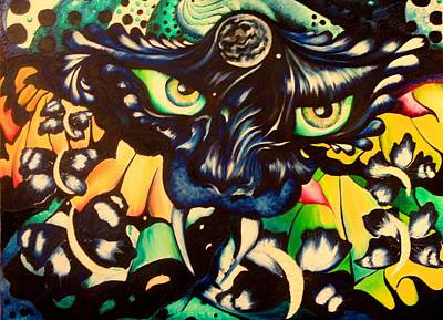 Wall Art - Painting - Nightmares Bring Daydreams by Alicia Post