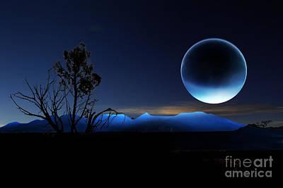 Digital Art - Nightrise by Angelika Drake