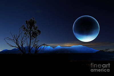Nightrise Art Print