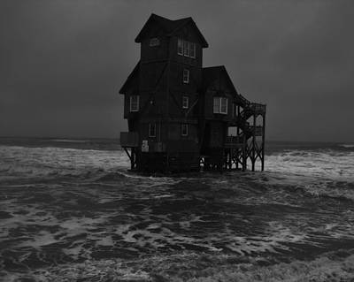 Serendipity Photograph - Nights In Rodanthe Movie Serendipity House   by Mark Lemmon