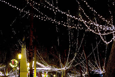 Christmas Holiday Scenery Photograph - Nights Of Lights by Kenneth Albin