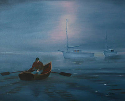 Painting - Before The Dawn by Dina Jacobs