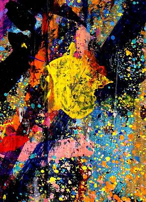 Abstract Expressionism Painting - Nighttown IIi by John  Nolan