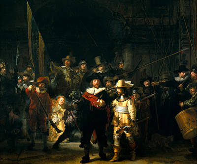 Nightwatch  Art Print by Rembrandt