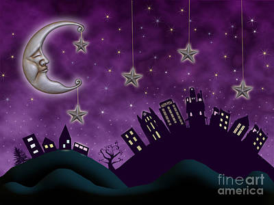 Whimsical Drawings Photograph - Nighty Night by Juli Scalzi
