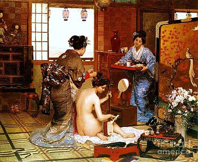 Painting - Nihon No Toire by Pg Reproductions