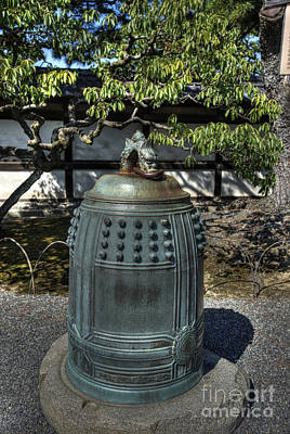 Photograph - Nijo Castle Bell by David Bearden