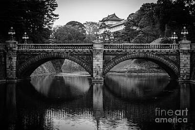 Photograph - Nijubashi Bridge by Dean Harte
