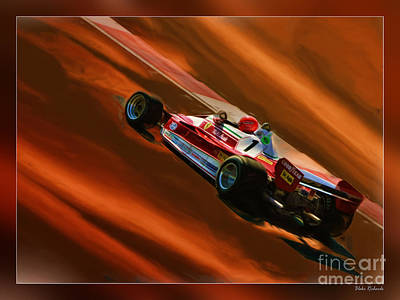 Photograph - Niki Lauda's Ferrari by Blake Richards