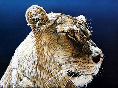 Painting - Nikka by Linda Becker