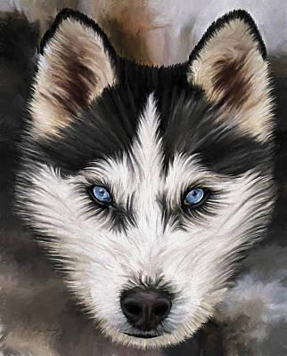David Wagner Painting - Nikki by David Wagner