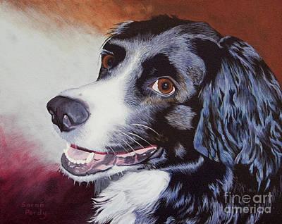 Nikki's Portrait Art Print