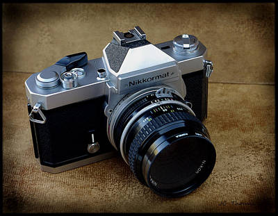 Photograph - Nikkormat Ft3 Camera by James C Thomas