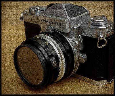 Photograph - Nikkormat Ftn Camera by James C Thomas
