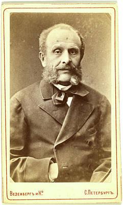 Nikola I Karlovich Girs, Half-length Portrait Art Print