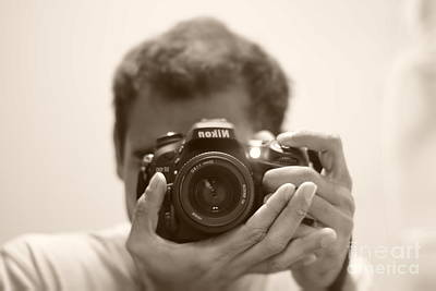 Nikon D7100 Art Print by Bobby Mandal