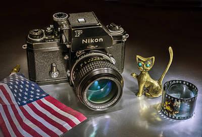 Photograph - Nikon F by Vladimir Kholostykh