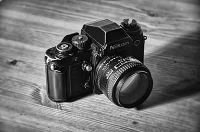 Photograph - Nikon F3 by Taylan Apukovska