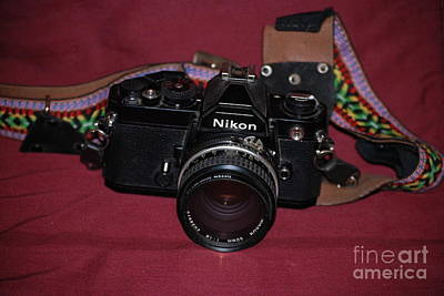 Photograph - Nikon Fm by Mark McReynolds