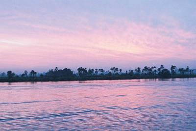 Art Print featuring the photograph Nile Sunset by Cassandra Buckley