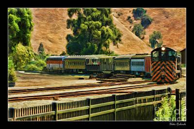 Photograph - Niles Canyon Railway  by Blake Richards
