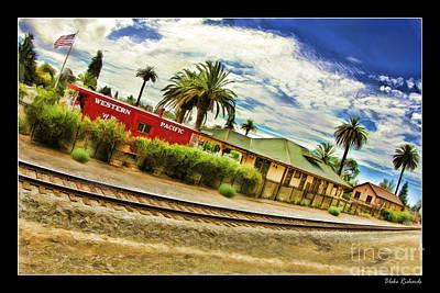 Photograph - Niles Canyon Railway Station Niles by Blake Richards