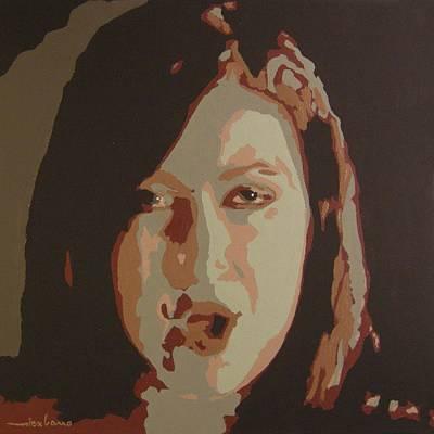Pastorus Painting - Nina Pastori by Alex Cano