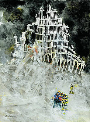 Nine Eleven Art Print by Jim Bates
