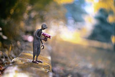 Flirt Photograph - Nine by Erdal Suat