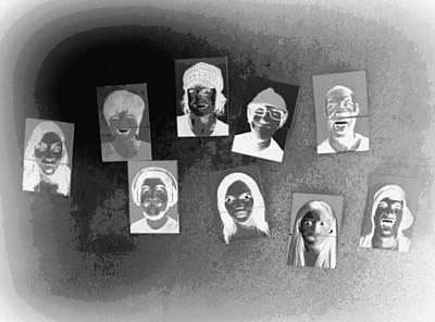 Photograph - Nine Faces by Patricia Januszkiewicz