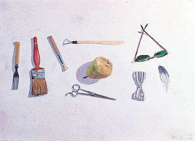 Painting - Nine Items  by Mark Lunde