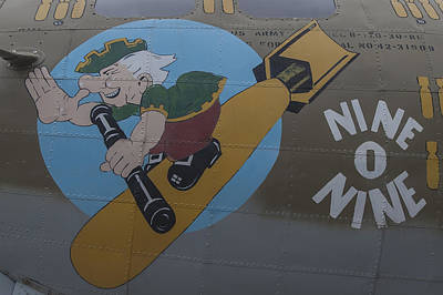 Photograph - Nine O Nine B-17 Flying Fortress  by Terry DeLuco