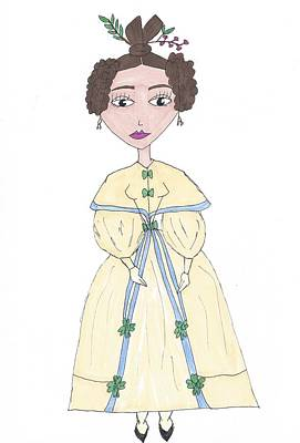 Drawing - Nineteenth Century Romantic by Sarah Katherine Roberts