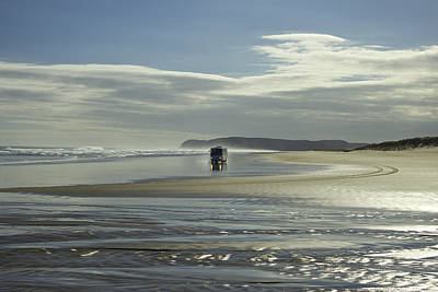 Ninety Mile Beach New Zealand Art Print