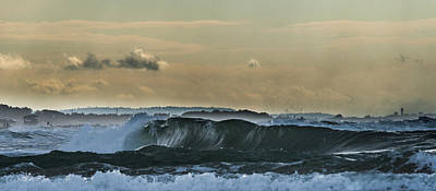 Photograph - Ninth Wave Mediterranean by Michael Goyberg
