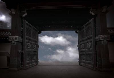 Open Mind Digital Art - Nirvana Gate by Daniel Hagerman