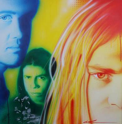 Nirvana - ' Nirvanarysm ' Original by Christian Chapman Art