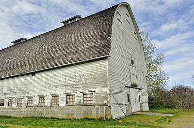 Photograph - Nisqually National Wildlife Refuge Barn by Tikvah's Hope