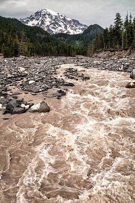 Photograph - Nisqually River by Stuart Gordon