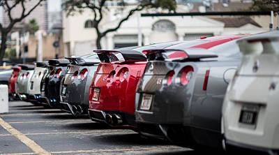 Jdm Photograph - Nissan Gt-r  by Ali Siddiqui