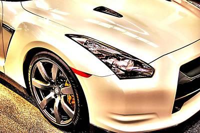 Photograph - Nissan Gtr by Bob Wall