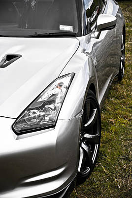 Nissan Gtr Art Print by Phil 'motography' Clark