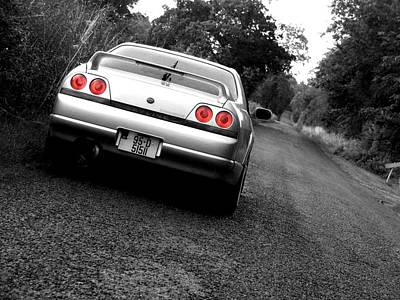 Eddie Armstrong Photograph - Nissan Skyline by Eddie Armstrong