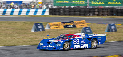 Photograph - Nissan Zx-gtp Turbo by Bill Linhares