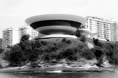 Photograph - Niteroi Contemporary Art Museum by Celso Diniz