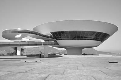 Contemporary Art Museum Photograph - Niteroi Museum by Christian Heeb