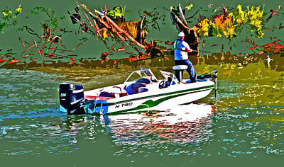Photograph - Nitro Bass Boats by Joseph Coulombe