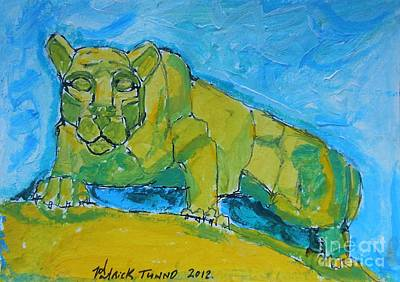 Nittany Lion Art Print by Pj T