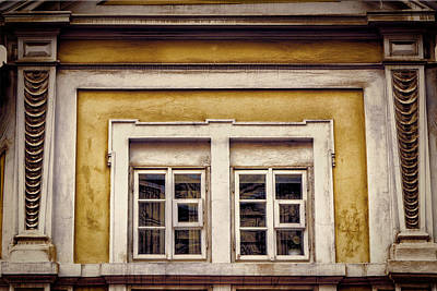 Nitty Gritty Window Print by Joan Carroll
